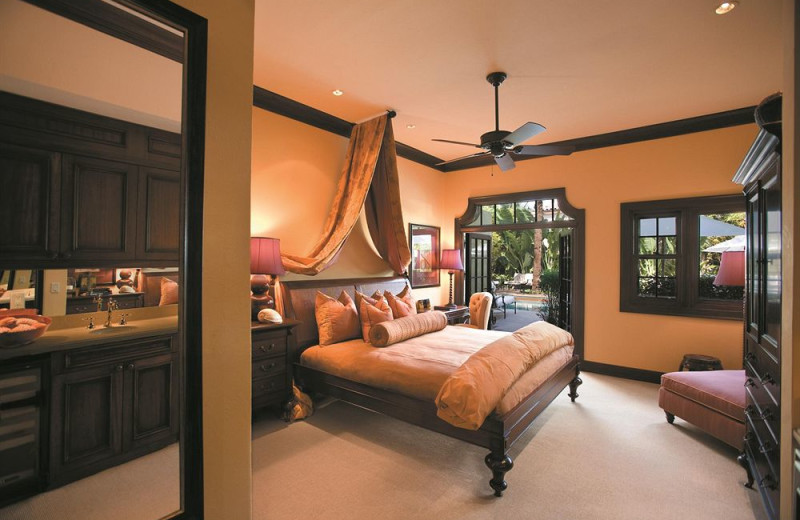Guest room at Brazilian Court.