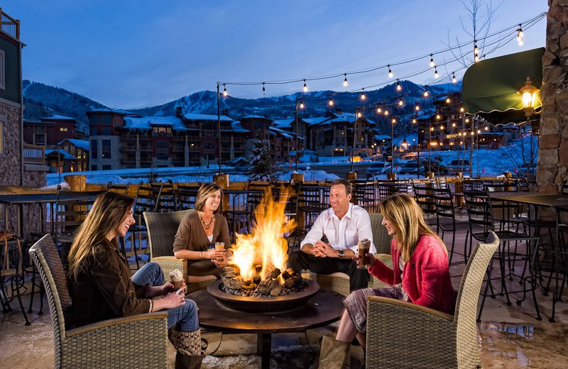 Patio at Westgate Park City Resort & Spa.