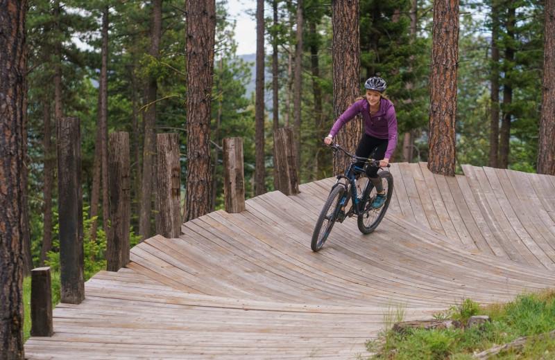 Biking at The Green O.