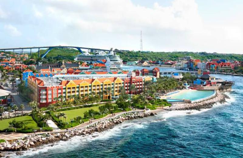Exterior view of Renaissance Curacao Resort & Casino.
