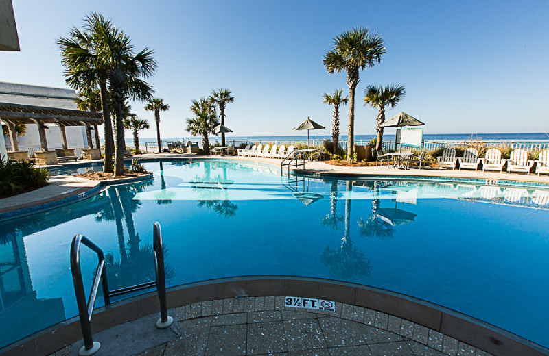 Outdoor pool at Sterling Resorts.