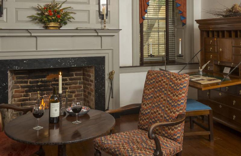 Interior at The White Swan Tavern.