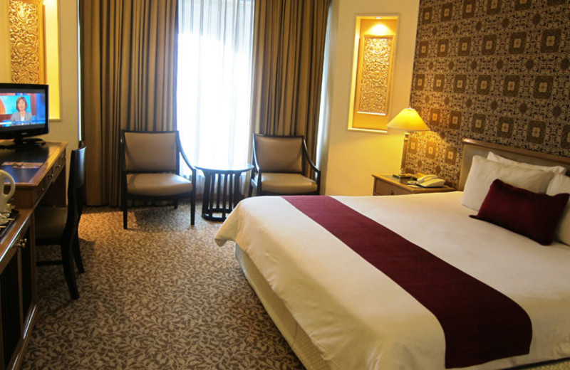 Guest room at Indra Regent Hotel.