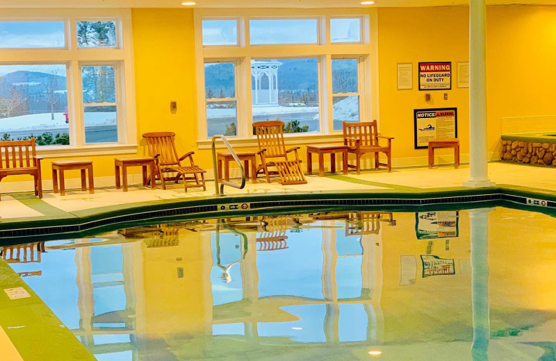 Indoor pool at Mountain View Grand Resort & Spa.