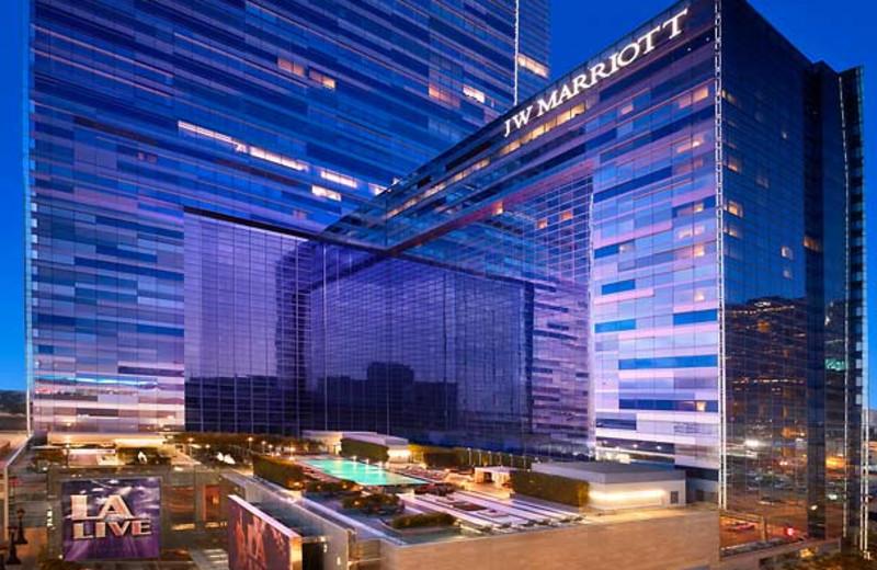 Exterior view of JW Marriott LA Live.