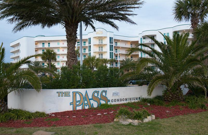 Rental exterior at Paradise Gulf Properties.