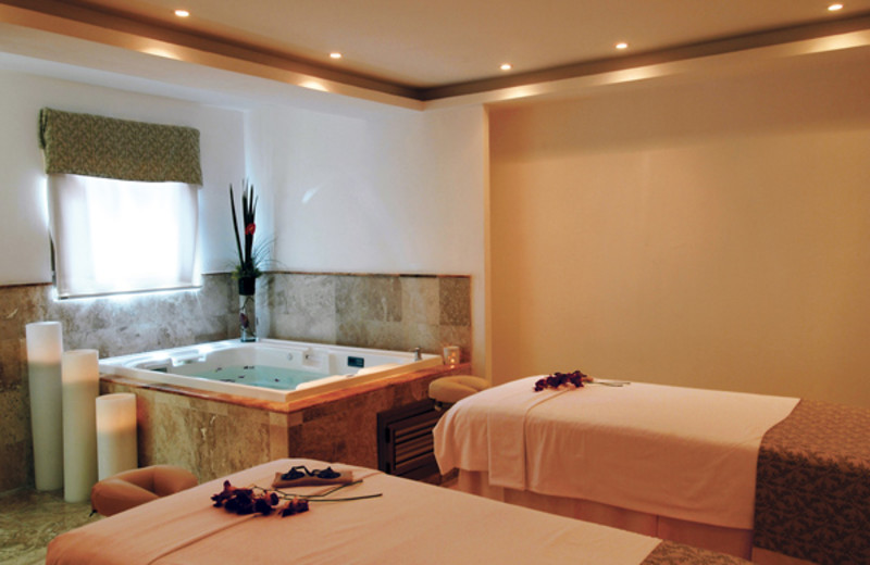 The spa at Valentin Imperial Riviera Maya.