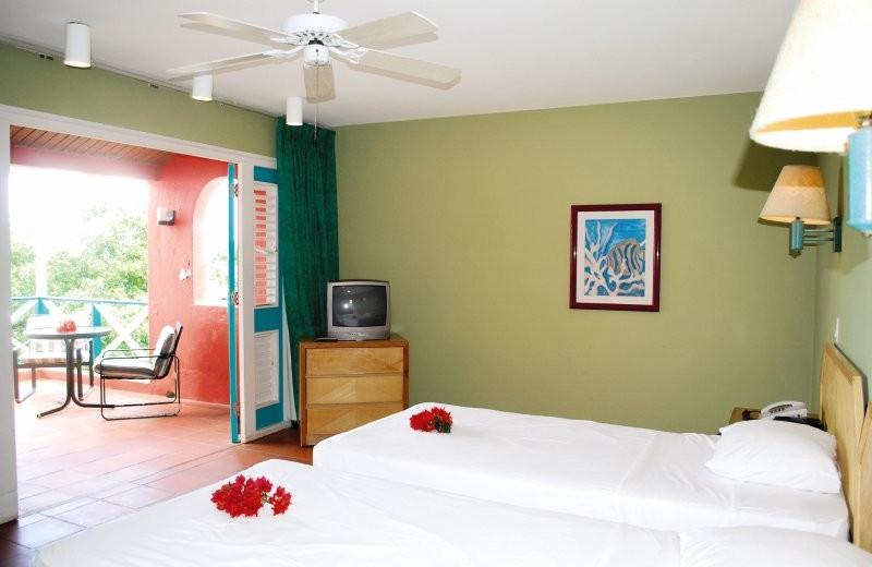 Guest room at Habitat Curaçao.