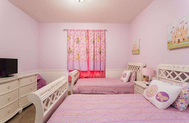 Vacation rental kid's room at Casiola Vacation Homes.