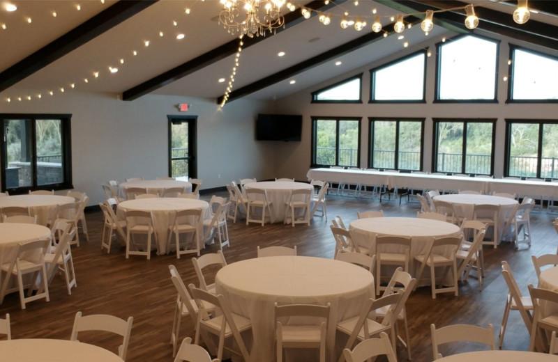 Event center at Granite Springs Lodge.