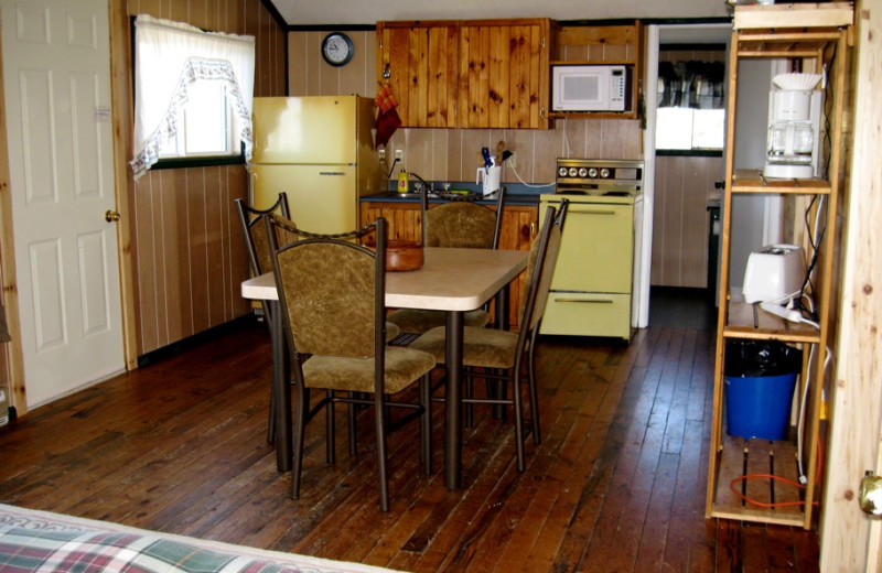 Cabin Interior at Brennan Harbour Resort
