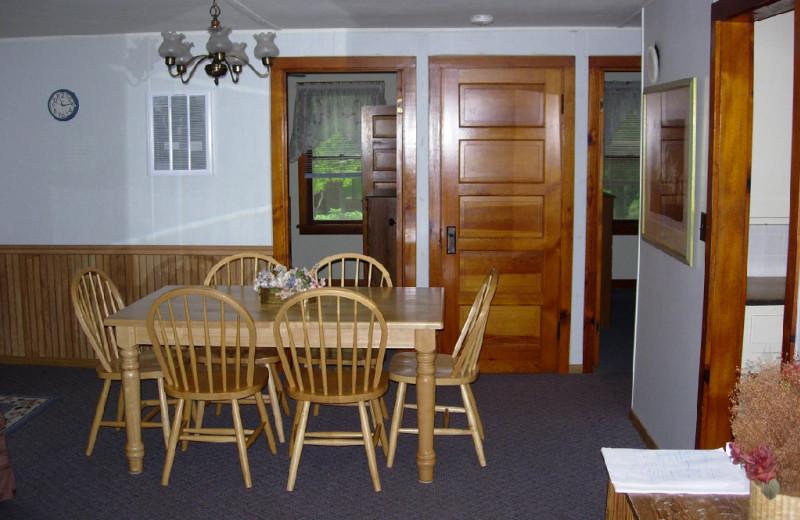 Suite Interior at Woodland Beach Resort