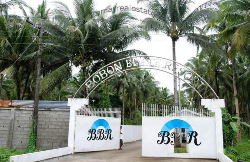 Gates at Bobon Beach Resort.
