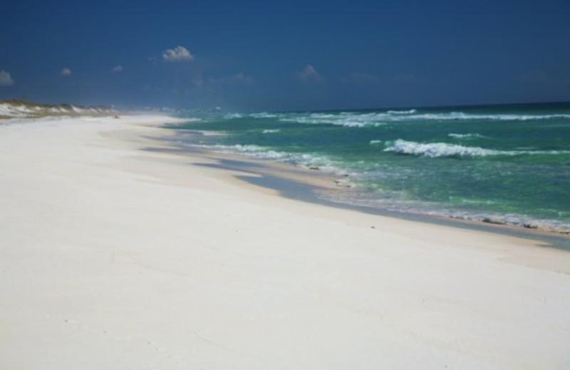 Beach view at Seascape Resort.