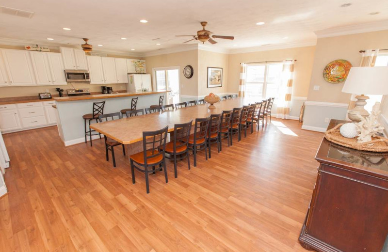 Rental kitchen at Sandbridge Realty.