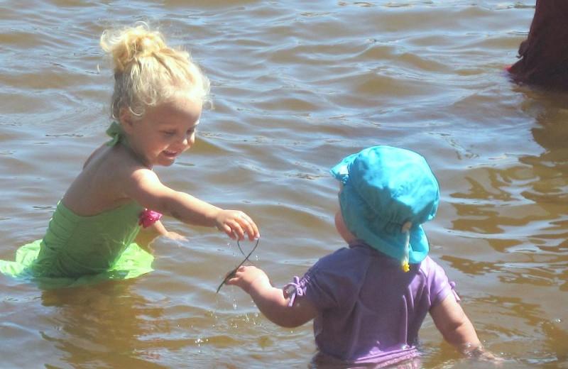 Water fun at Northland Lodge.