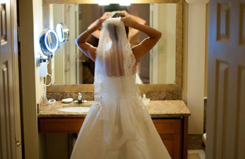 Bride at The Meadowmere Resort.