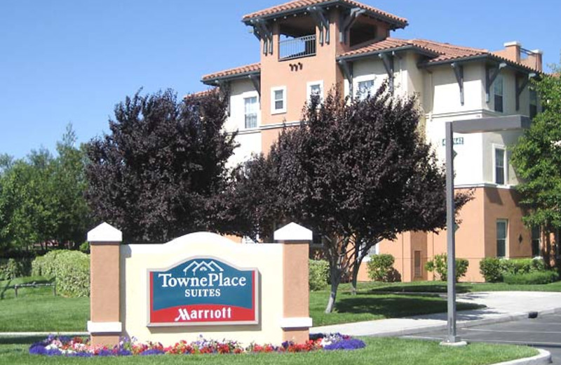 Exterior view of TownePlace Suites San Jose Cupertino.
