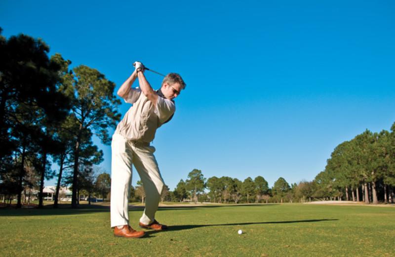 Golf course at Edgewater Beach & Golf Resort.
