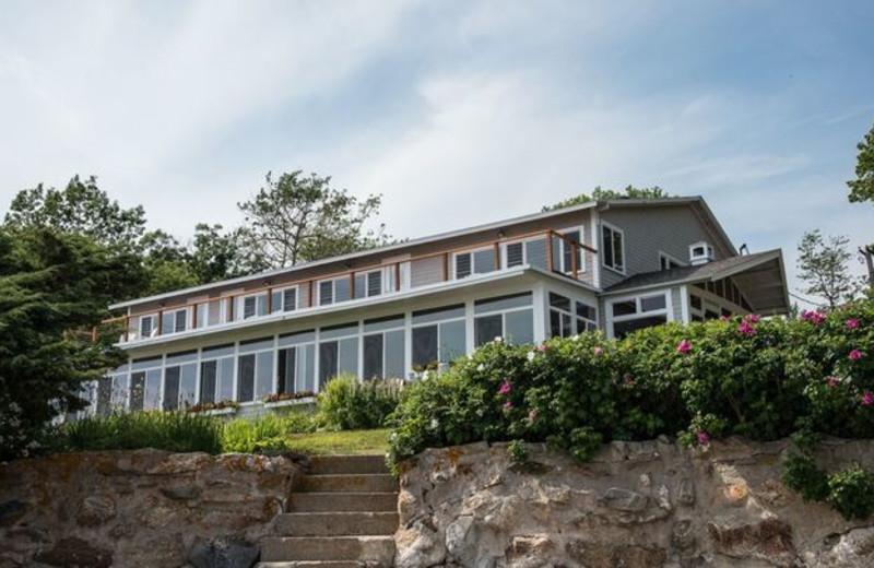 Exterior view of Linekin Bay Resort.