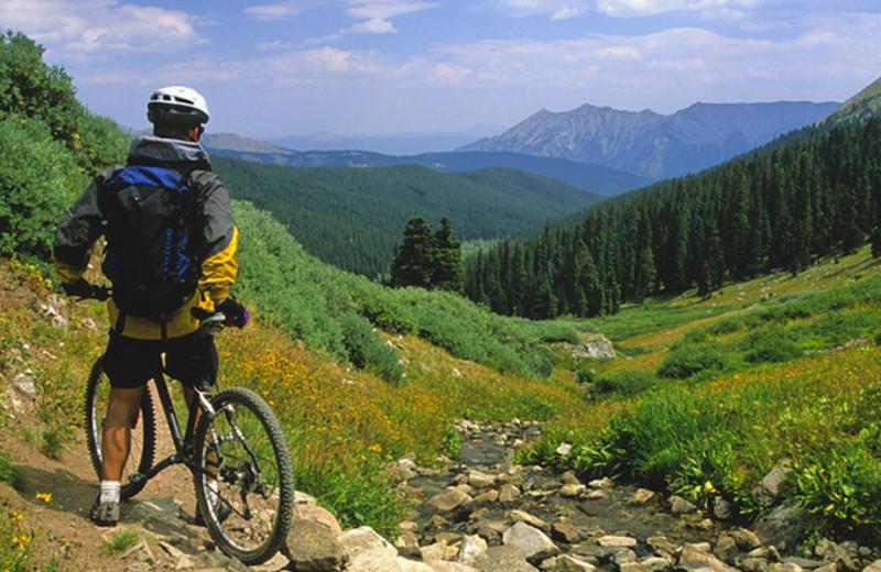 Biking trails at Aspen Winds.