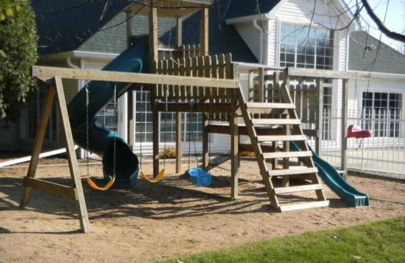 Children's playground at Pheasant Park Resort.