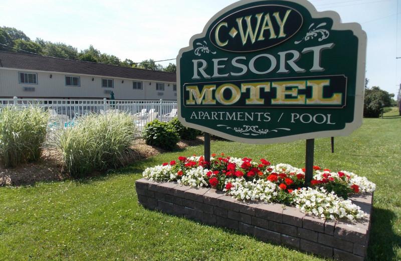 Exterior view of C-Way Resort.