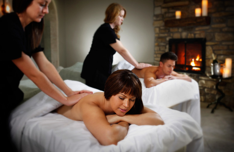 Spa treatments at Big Cedar Lodge.