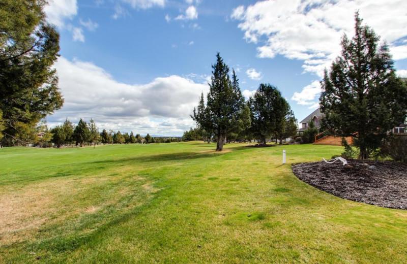 Golf course at Vacasa Rentals Eagle Crest.