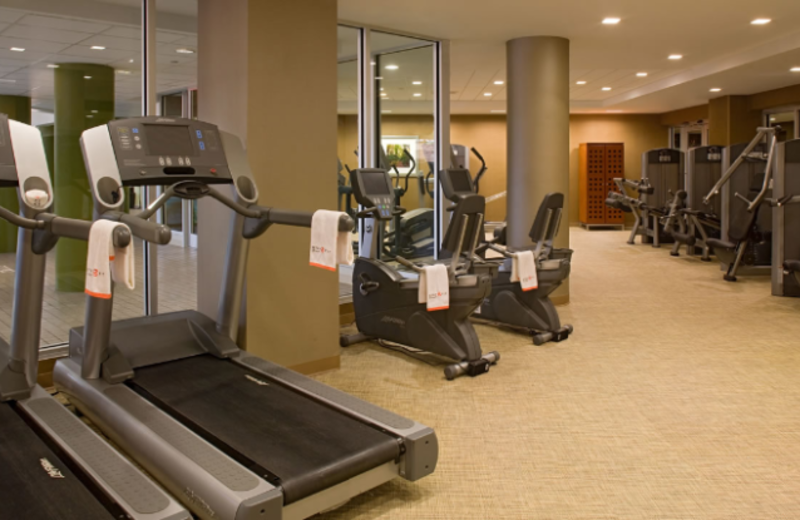 Fitness Center at Hyatt Regency New Brunswick