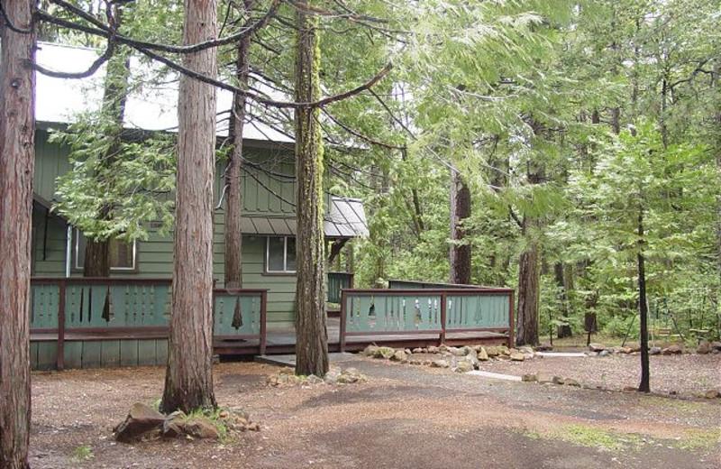 Rental exterior at Twain Harte Vacation Rentals.