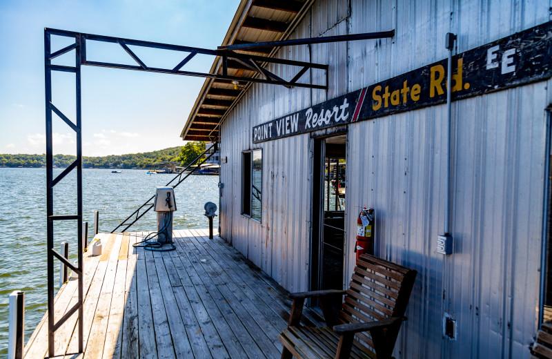 Fishing dock at Point View Resort