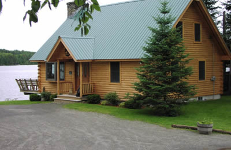 Cabin Exterior at Powder Horn Lodge
