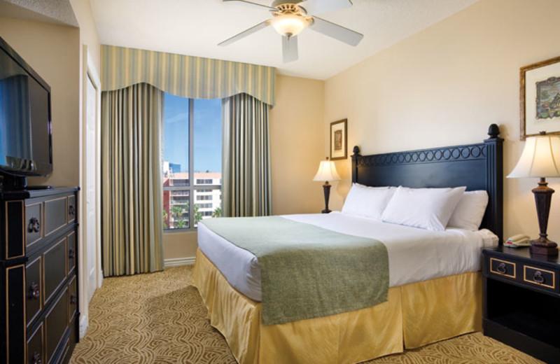 Guest room at Wyndham Grand Desert.