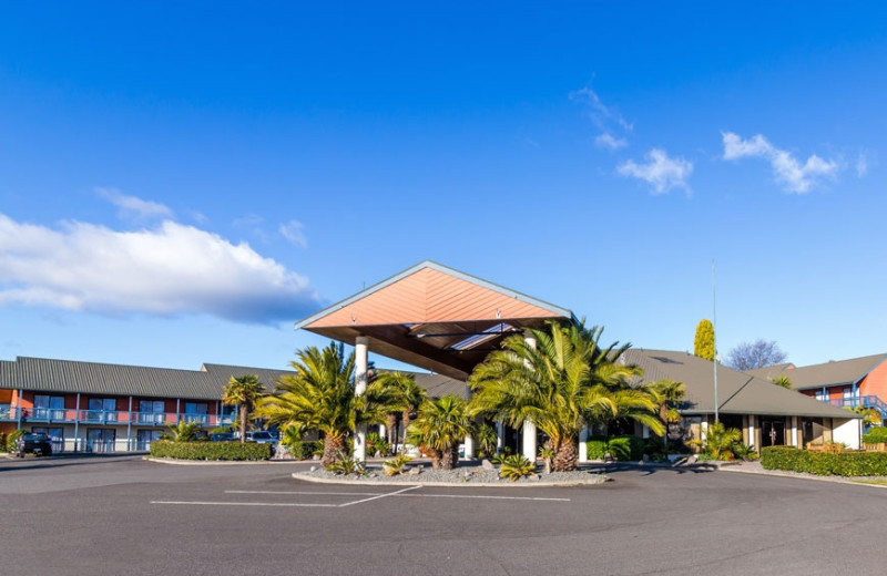 Exterior view of Lakeland of Taupo Hotel & Conference Venue.