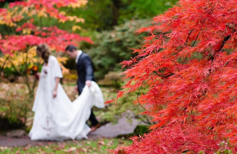 Wedding at Cascade Village Condominiums.