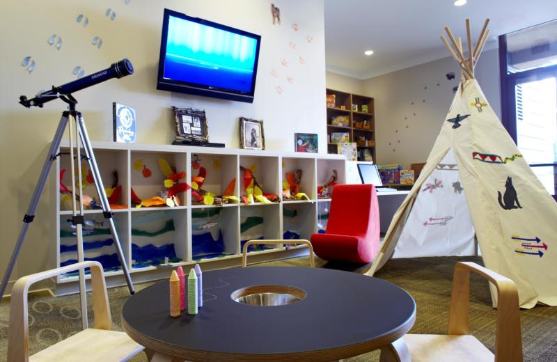 Kids playroom at The Westin Riverfront Resort & Spa.