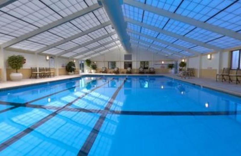 Indoor Pool at The Samoset Resort