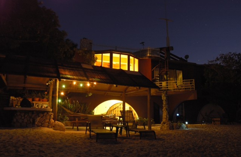 Exterior view of The Barnacle Bed and Breakfast.