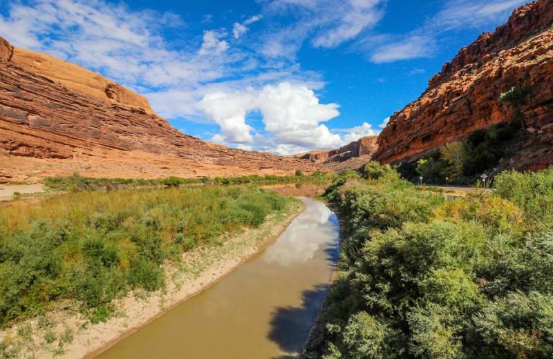 scenic view at Moab Condo Rentals.