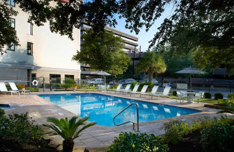 Outdoor Pool at SpringHill Houston Medical Center/Reliant Park