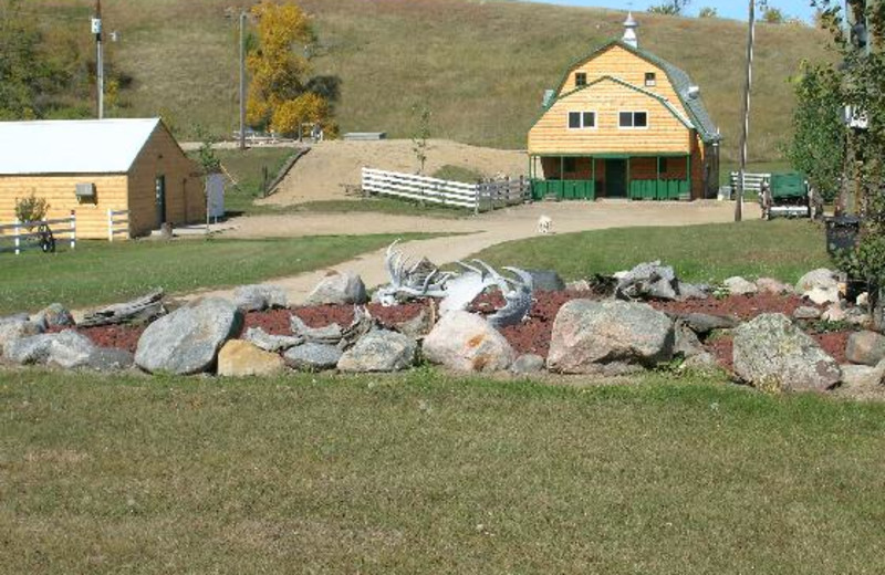 Exterior view of Dakota Hunting Lodge.