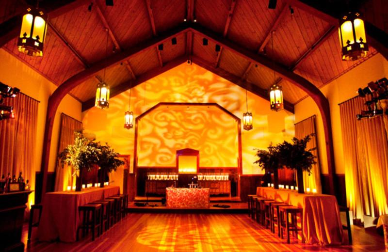 Interior view of Cavallo Point Lodge.