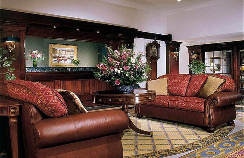 Lobby Area at Bar Harbor Regency