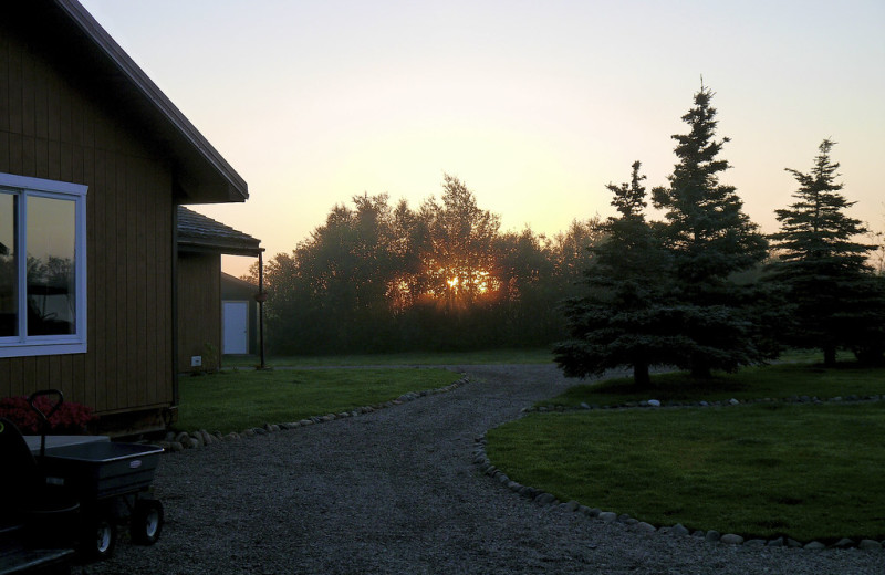 Exterior view of Alaska Rainbow Lodge.