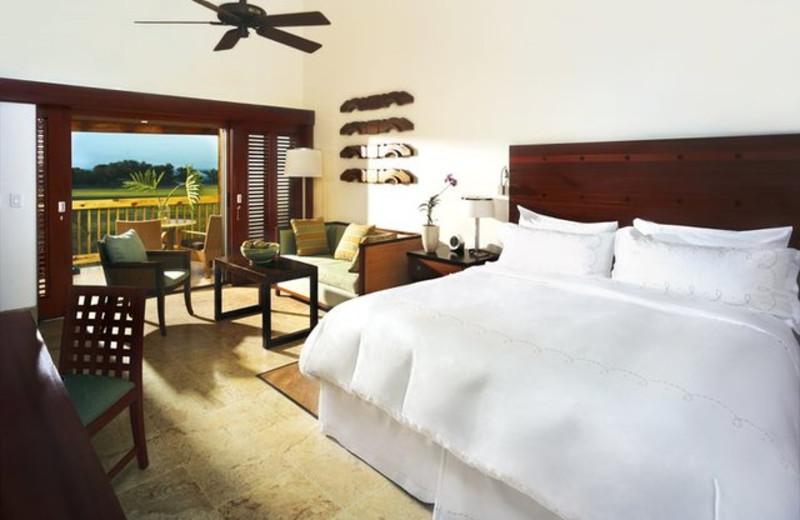 Guest room at Casa de Campo.