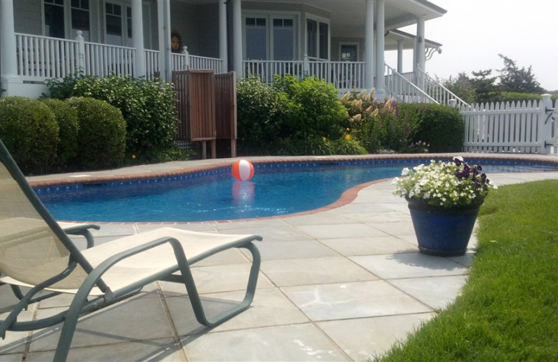 Outdoor Pool at Seatuck Cove House
