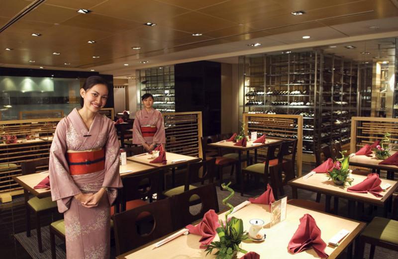 Dining at Hotel Equatorial Kuala Lumpur.