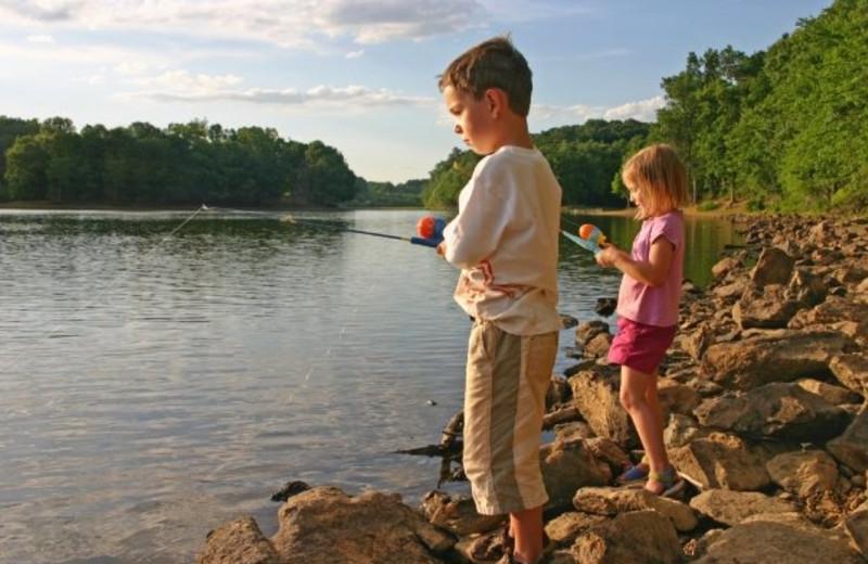 Fishing at The Resort at Glade Springs