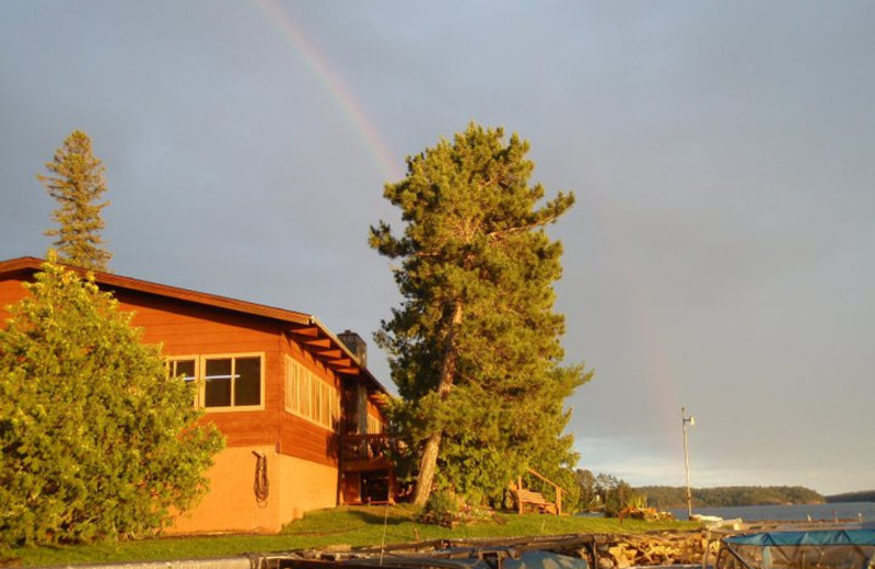 Exterior View of Zup's Fishing Resort and Canoe Outfitters